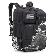 Waterproof Tactical Backpack Military Outdoor Men 3P Army Backpacks Molle Assault Attack Camping Hiking Hunting Mountaineering цена