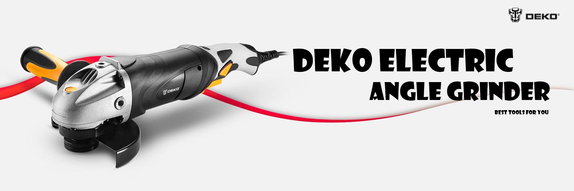 Amoladora rotaflex eléctrica DEKO 220V para metal o madera