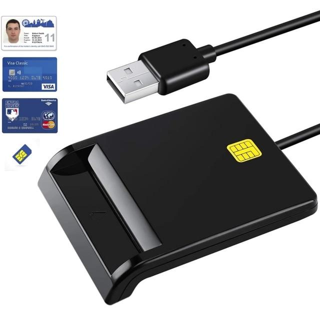 Smart Tax Return Bank Id Card Reader Sim Phone Card Id Cac Dnie Chip Smart Card Multi-Function Id Card Reader 1