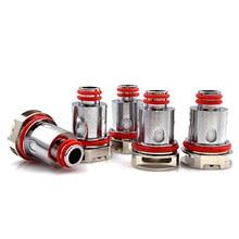 Runvape 5 pçs/caixa rpm40 bobina 0.6ohm malha m40 dc 0.6ohm 1.4ohm ceraimic rpm80 pod substituição bobinas cabeça