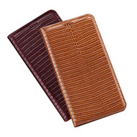 Business style genuine leather phone case for Huawei P30 Lite/Huawei P30 Pro/Huawei P30 holster cover credit card slot holder