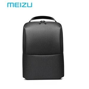 Image 1 - Original Meizu Solid Waterproof Laptop backpacks Women Men Backpacks School Backpack Large Capacity For Travel Bag Outdoor Pack
