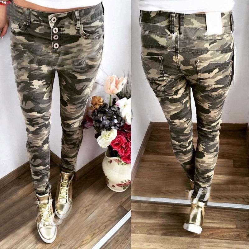 Women Candy Pants Pencil Trousers 2018 Spring Fall Stretch Pants For Women Slim Ladies Jean Trousers Female