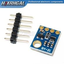 10 قطعة SHT21 وحدة استشعار الرطوبة ودرجة الحرارة الرقمية استبدال SHT11 SHT15 GY 21 HTU21