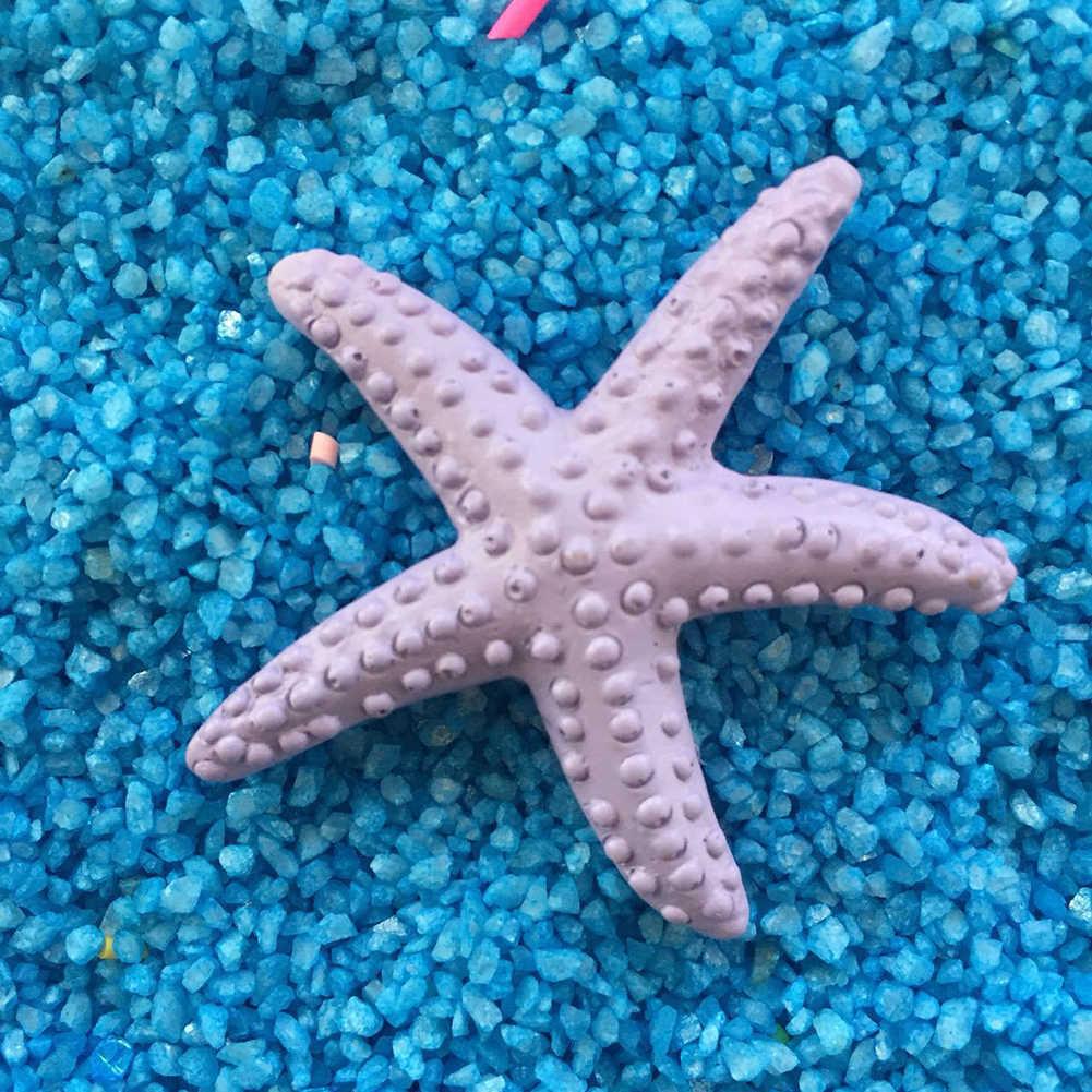Çevre dostu plastik Starfishes Beach kıyı simülasyon denizyıldızı DIY dekorasyon el sanatları süs dekor
