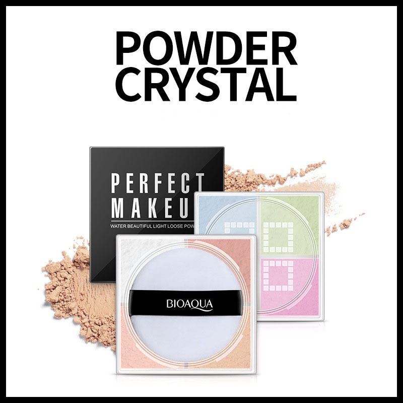 Pretty Light Face Loose Powder Concealer Isolation Easy Finishing Powder Makeup Honey Water Face Fundation Powder For Cosmetics