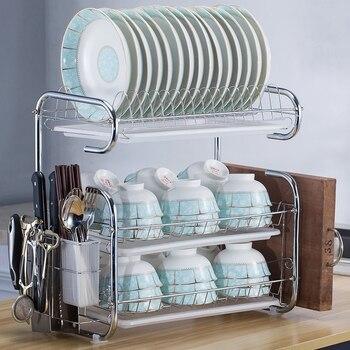 Ящик для хранения кухонных столовых приборов, полка, тарелка, столовые принадлежности, стеллаж для хранения, полка для ножей, сливной поднос...
