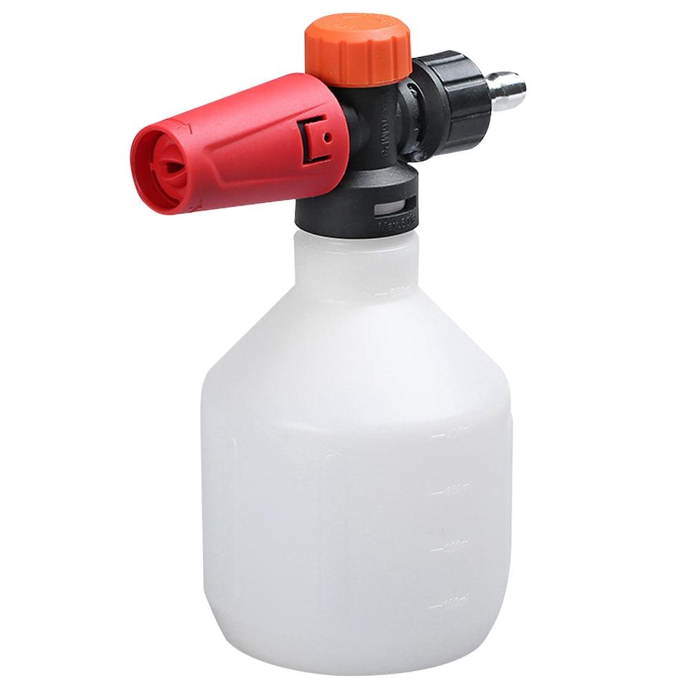 Pot Adjustable Copper Home Generator Garden Car Cleaning Nozzle Snow Pressure Washer Quick Connector 500ml Foam Cannon