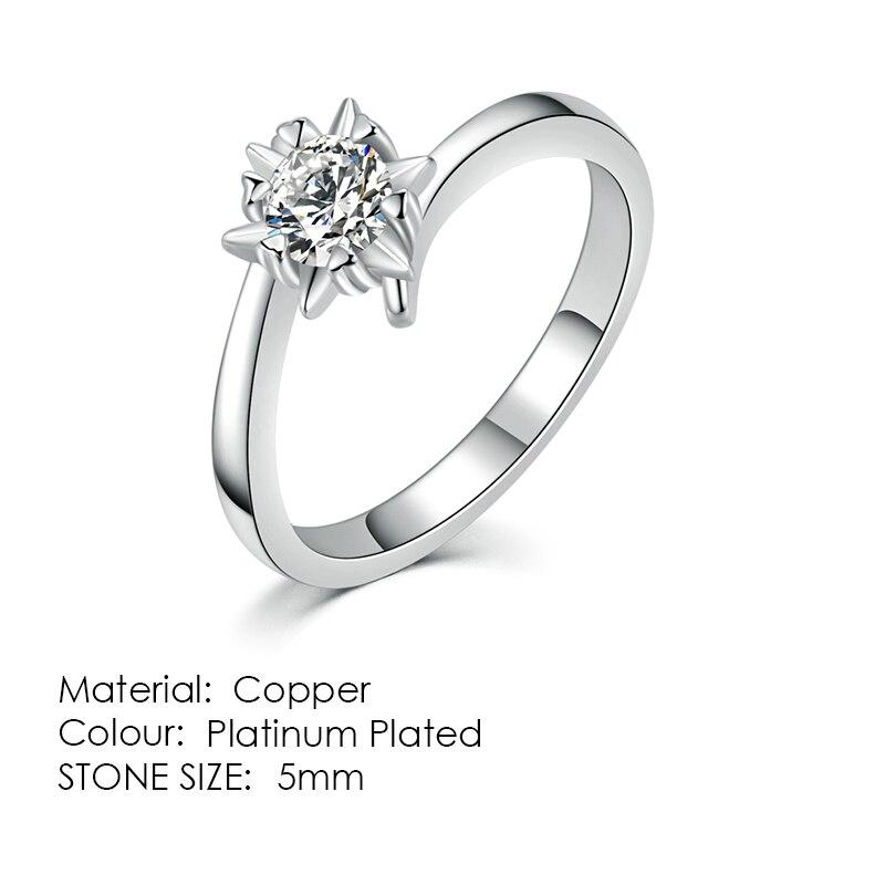 ZHOUYANG кольцо для женщин, простой стиль, кубический цирконий, свадебное кольцо, светильник, золотой цвет, модное ювелирное изделие KBR103 - Цвет основного камня: R514