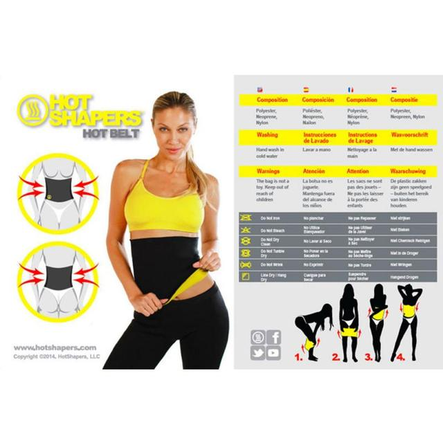 2019 New Fitness Women Slimming Waist Belts Neoprene Body Shaper Training Corsets Cincher Trainer Promote Sweat Bodysuit 2