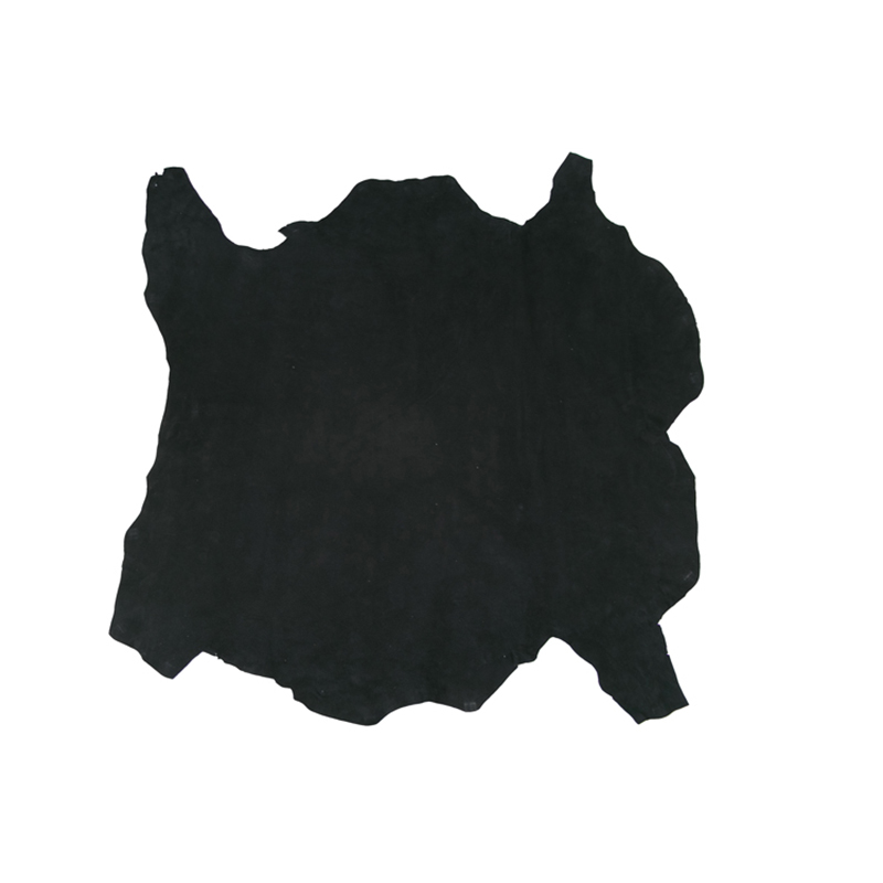 High quality black real sheepskin clothing sheep skin genuine leather thin and soft DIY handmade fabric material whole