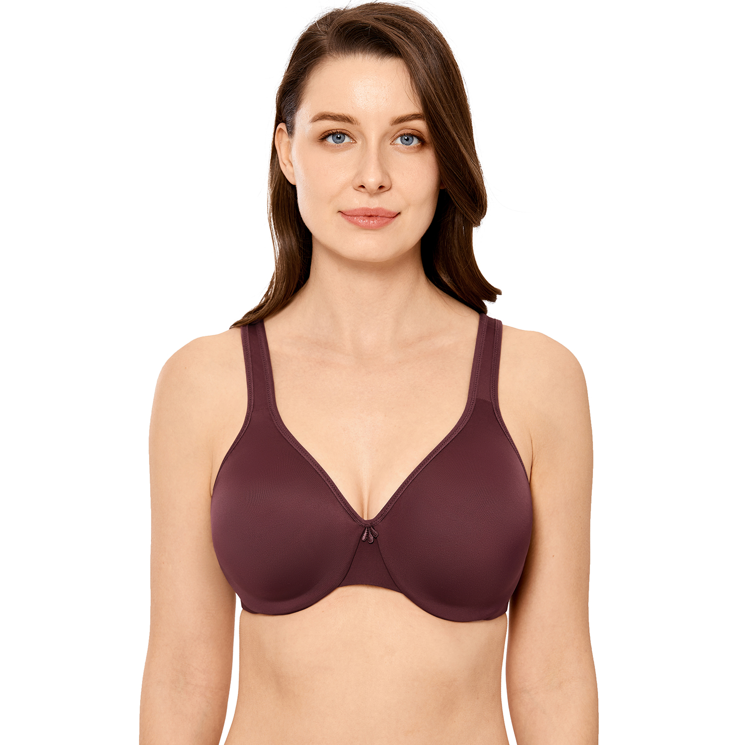 Women's Smooth Minimizer Bra Full Figure Large Busts Underwire Seamless Bras
