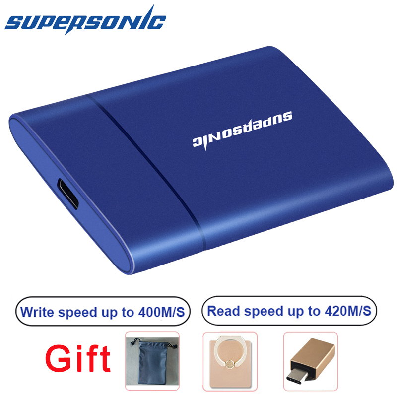 Portable P30 SSD 2TB 1TB USB 3.0 External Solid State Drive 128GB 256GB 512GB Shockproof SSD for PC Laptop Mac Phone