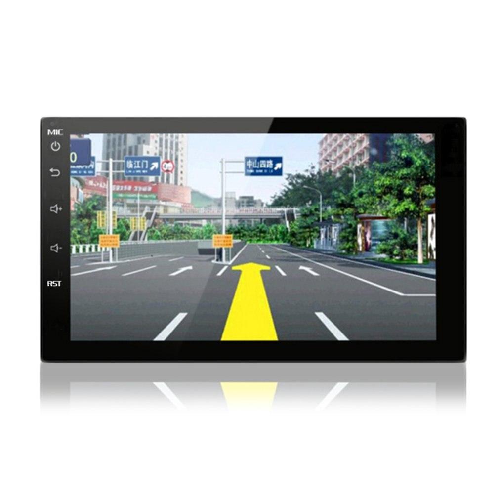 7 zoll Auto GPS Navigation 1080P HD Intelligente Automobil Navigatoren Mit Rückansicht Kamera Für Android System