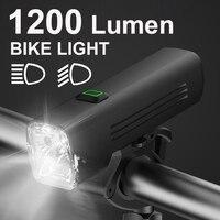 NEWBOLER 1200 Lumen Fahrrad Licht Set USB High/Low Strahl MTB Fahrrad Lampe Scheinwerfer LED Radfahren Taschenlampe Laterne Bike zubehör