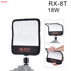 FalconEyes RX-8T Daylight Portable LED Photo Video Light 90pcs Waterproof Flexible Rollable Cloth Lamp for Shoot CD50 T03 P