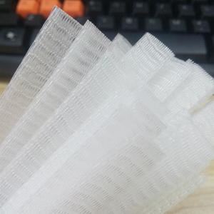 Image 4 - 50/100pcs איפור מברשות נטו מגן משמר אלסטי רשת יופי איפור קוסמטי מברשת עט כיסוי