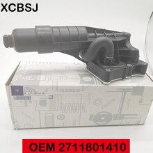 Oliekoeler Module Voor Mercedes Turbocharged 4 Cilinder M271 Motoren Olie Filter Smering 2711801410