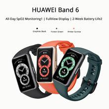Huawei – bracelet connecté Band 6, avec écran 2021