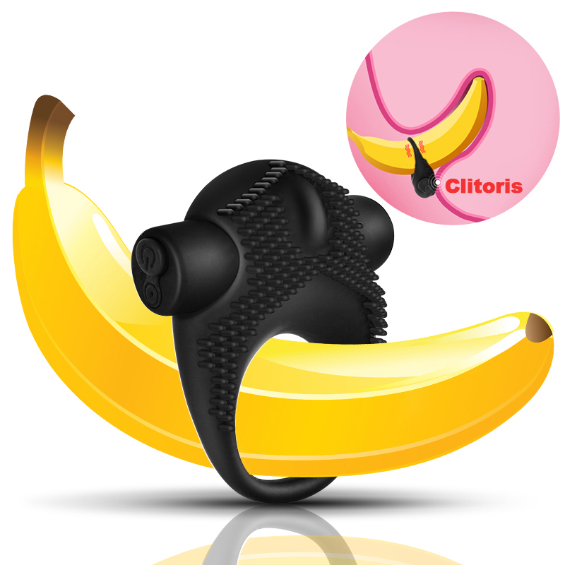 Delayed Ejaculation <font><b>Penis</b></font> g spot <font><b>Vibrator</b></font> Studs <font><b>USB</b></font> Charging Silicone Ring Vibrating For Sex erotic toys For Men sex product image