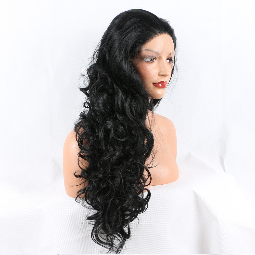 onda do corpo peruca de cabelo sintético