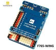 Контроллер полета Matek Mateksys, модель F765, крыло для FPV гоночного радиоуправляемого дрона, фиксированные крылья