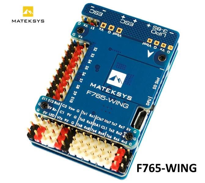 Matek Mateksys Flight Controller F765-WING F765 Wing For FPV Racing RC Drone Fixed Wings