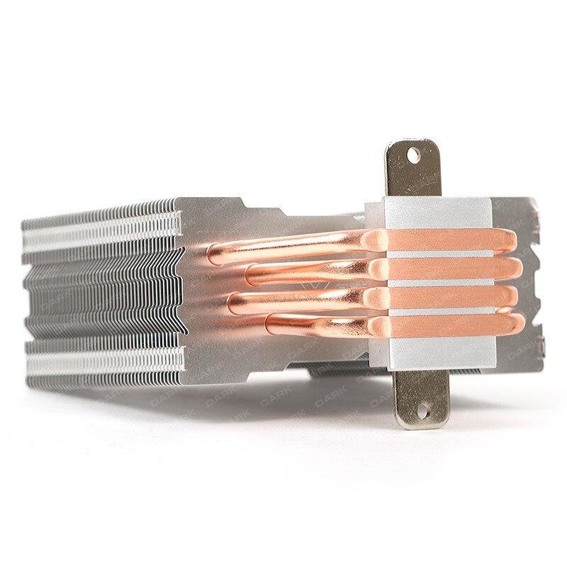 Dark Freezer X120 Intel 775/1155/1156/1150/1151/1366/2011/2011-v3/2066 - AMD AM2/AM2 +/AM3/AM3 +/AM4 Compatible processor Cooler 3