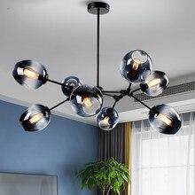 Скандинавская светодиодный ная люстра, освещение для украшения дома, люстры для столовой, подвесные лампы, декор для ресторана, светильник ...