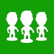 цены BMH  Football Soccer Star 6.5 cm Height Resin Dolls 2.5