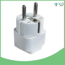 цена на 1pc Universal Socket Converter 250V 10A US AU UK to EU Plug Travel Adapter Travel Wall AC Power Adapter