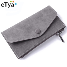 eTya High Quality Fashion Long Wallet Women With 6 Card Hold