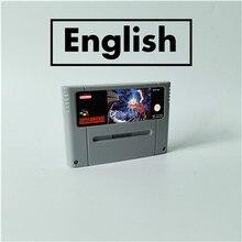 Terranigma rpg carte de jeu EUR Version anglais batterie économiser
