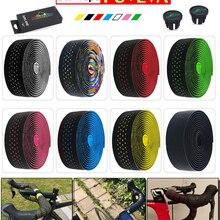 Pu-Bar-Tape Bicycle-Handlebar Anti-Vibration-Wrap Cycling-Damping Road-Bike Cork-Eva