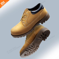 Xiaomi mijia high quality men's first layer leather military wind tooling shoes 3cm thickening heel men's shoes smart home