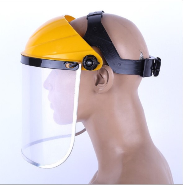 Anti-Saliva Dustproof Mask Transparent Safety Faces Shields Screen Spare Visors Head Helmet Respiratory Protection Mask