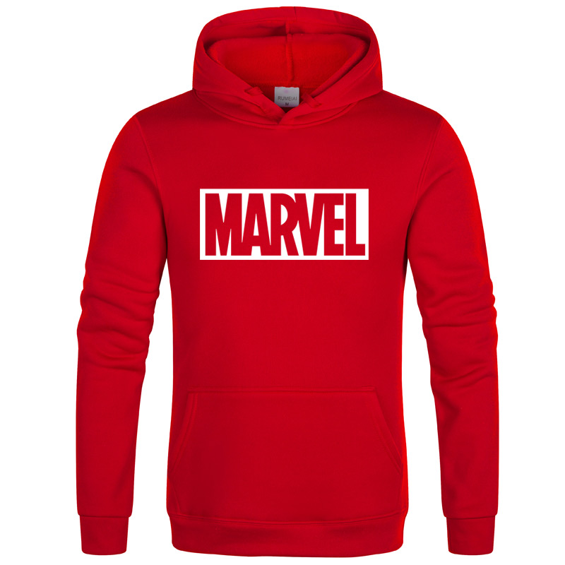 The New Brand Marvel Hoodies Men High Quality Long Sleeves Casual Men Sweatshirt Hoodies Marvel Print Hoodie Tracksuits Male