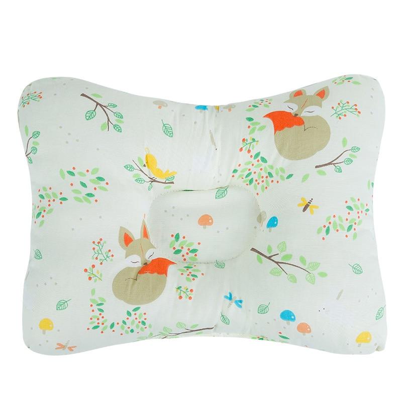 [Simfamily] новая Брендовая детская подушка для новорожденных, поддержка сна, вогнутая подушка, подушка для малышей, подушка для детей с плоской головкой, детская подушка - Цвет: NO25