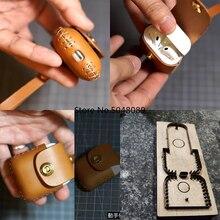 Японские Стальные лезвия для DIY кожаных наушников, гарнитура для airpods 4,0 мм с круглым отверстием