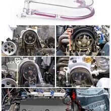 Топ один прозрачный кулачок крышка зубчатого ремня Крышка турбо кулачок шкив для Honda 96-00 EK с наклейкой PQY JR6337