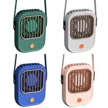 Wearable Hanging Neck Fan, 1500MAh USB Rechargeable Personal Pocket Fan Mini Desk Fan, Hands-Free Fan for Outdoor