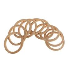 10 шт. незавершенный деревянный браслет, деревянный круг, 8 мм, для свадебной вечеринки, для домашнего декора, сделай сам, товары для рукоделия