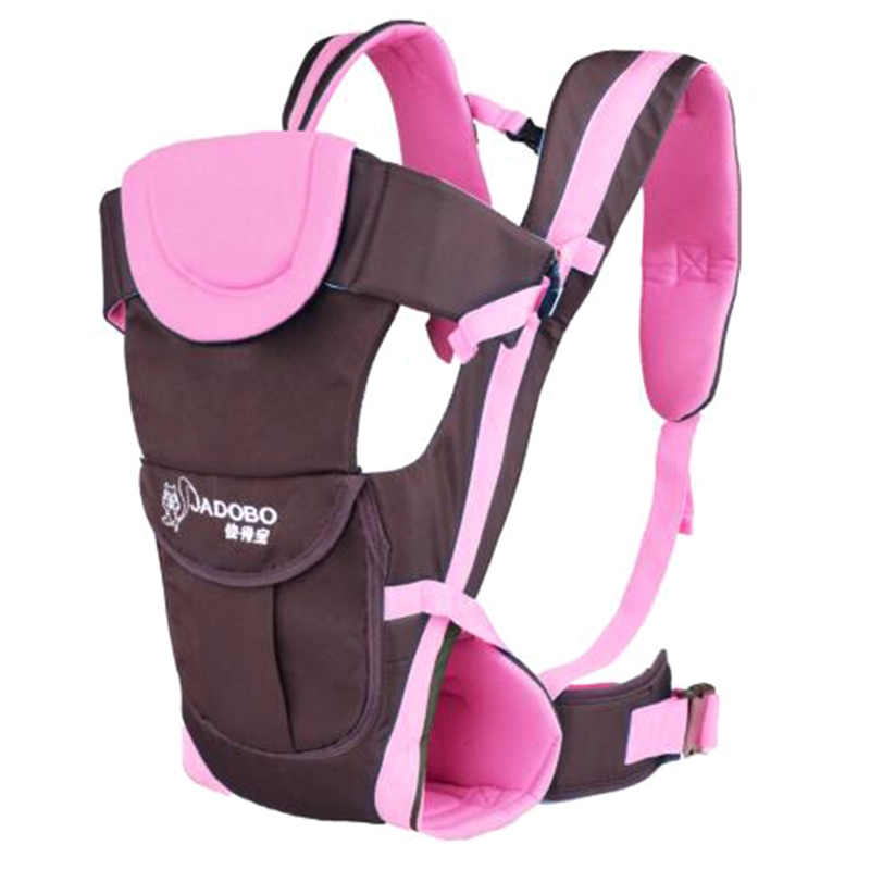 Baby Carriers Multifunctional Infant Kid Baby Hipseat Sling Front Facing Kangaroo Baby Wrap Backpacks For Baby 0-24 Months