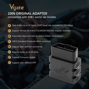 Image 4 - Vgate vLinker MC+ ELM327 Bluetooth 4.0 OBD 2 OBD2 ELM 327 wifi Car Diagnostic For Android/IOS Scanner Auto Tools PK OBDLINK iCar
