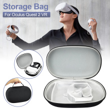 New Protable VR Accessories For Oculus Quest 2 VR Headset Travel Carrying Case EVA Storage Box For Oculus Quest 2 Protective Bag