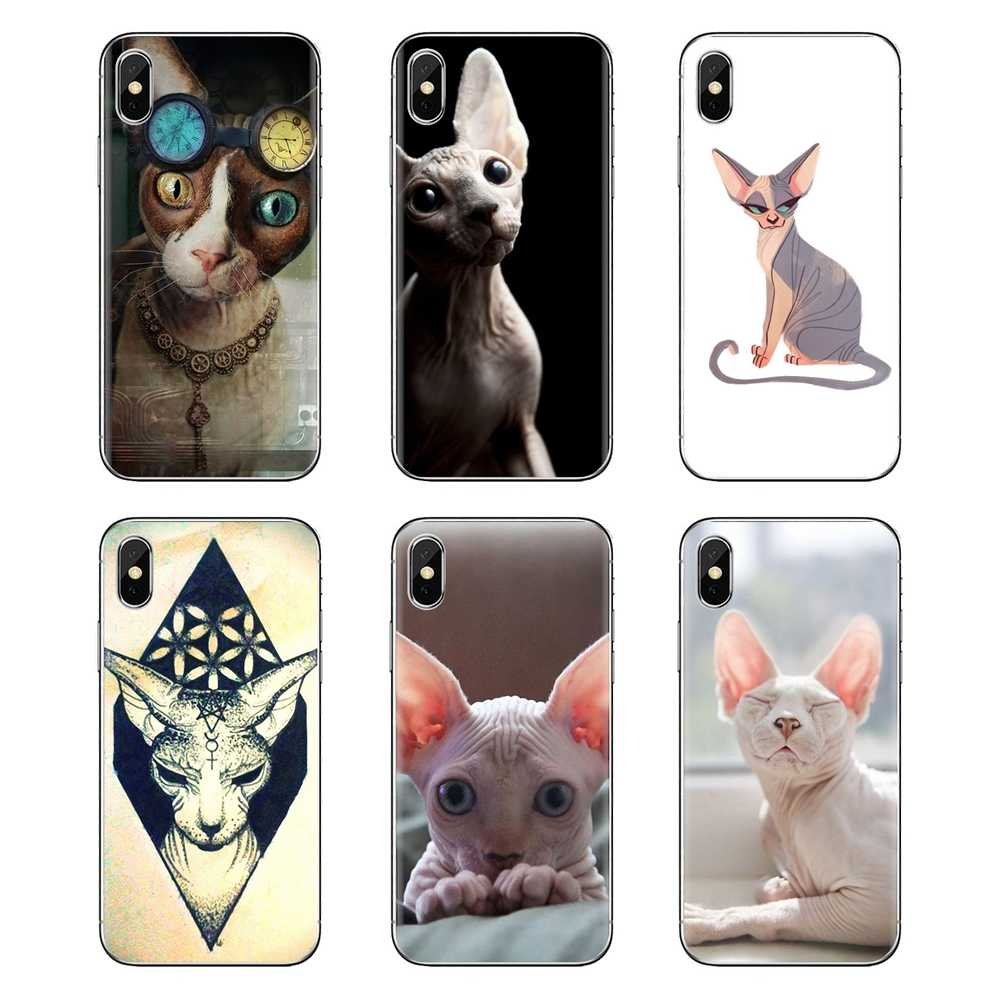 Sphynx kat kitty Voor Xiaomi Redmi 4A S2 Note 3 3S 4 4X5 Plus 6 7 6A pro Pocophone F1 Zachte Transparante Gevallen Covers