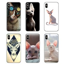 Sphynx chat kitty pour Xiaomi Redmi 4A S2 Note 3 3S 4 4X5 Plus 6 7 6A Pro Pocophone F1 doux Transparent housses(China)
