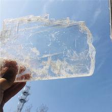 Yüksek kalite doğal kuvars kristal selenite serisi reiki şifa ev dekorasyonu mineral numune toplama
