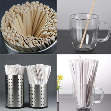 Дизайн одиночные индивидуально завернутые кофейные палочки деревянные палочки одноразовые для напитков палочки 14 19CM100 палочки