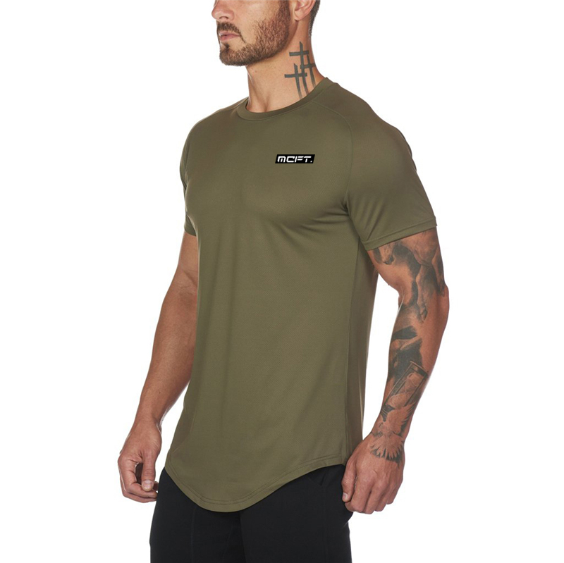 New Brand <font><b>Mens</b></font> Gyms t shirt Fitness Bodybuilding Slim Fit <font><b>Mesh</b></font> <font><b>Tshirt</b></font> <font><b>Men</b></font> Short Sleeve workout male compression Tees Tops image